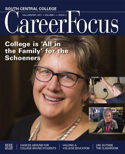 Photo of Career Focus magazine cover