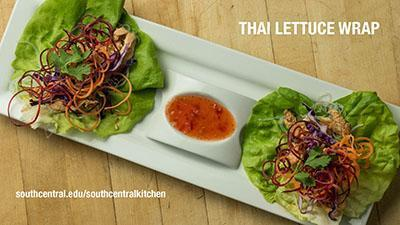 image of lettuce wrap